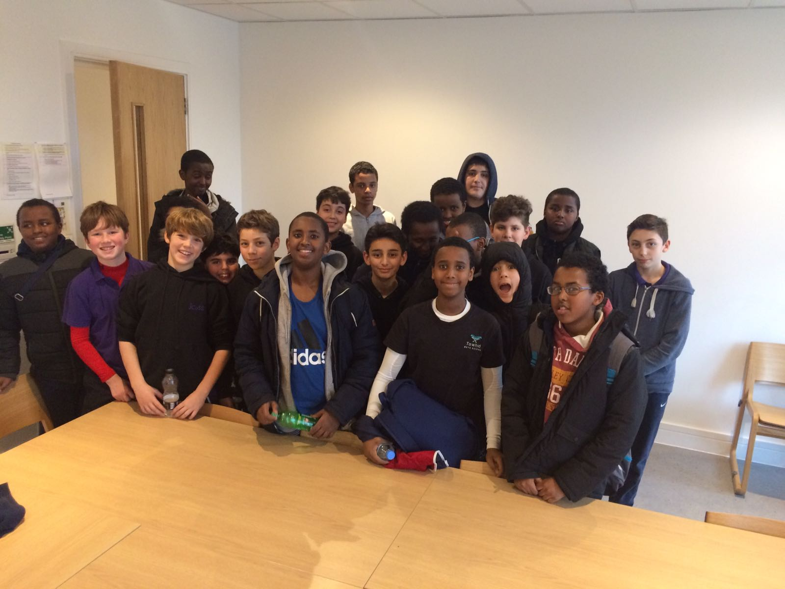 jcoss bringing different faiths together through football